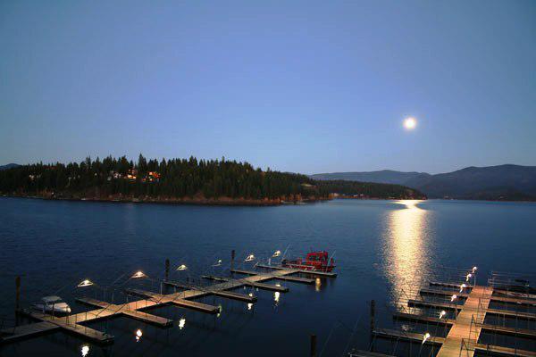 Boat Slips at Hayden Lake Country Club Idaho