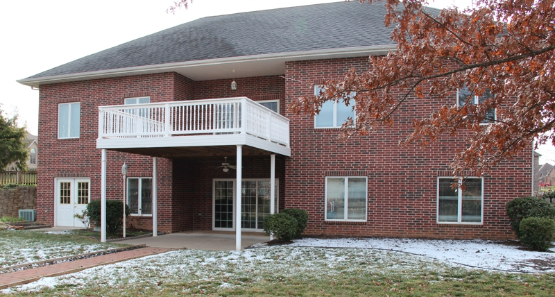 All Brick 4400 Sq Ft Home In Bentwater Subdivision Nixa