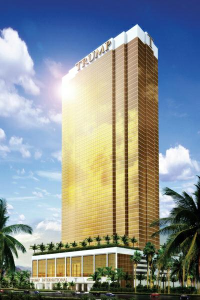 CLICK TO READ THE LAS VEGAS REVIEW JOURNAL ARTICLE ABOUT TRUMP TOWER # 2 LAS