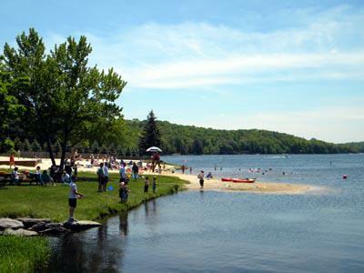 Roamingwood Lake Beach and Family Fishing