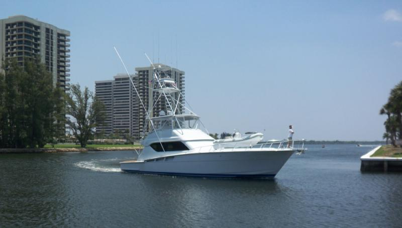 sportsfish coming into North Palm Beach Marina