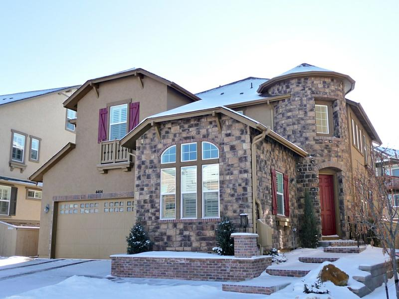 home for sale in the hearth winter photo