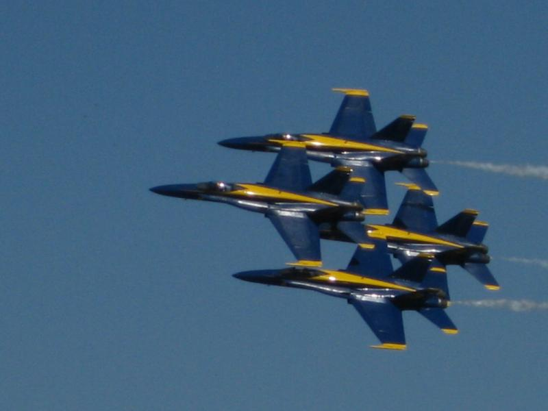 Redding Air Show 2009 Blue Angels