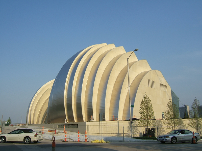 Kauffman Center in Kansas City 18th & Broadway