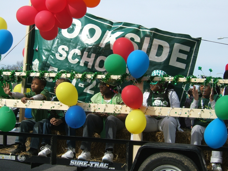 Brookside School Float