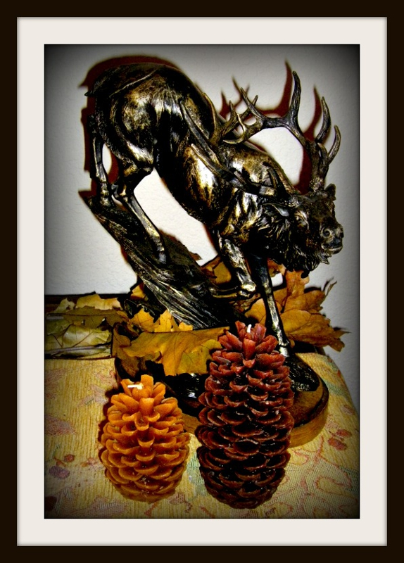 Fall Decor Fishhawk Lake By Gayle Rich-Boxman