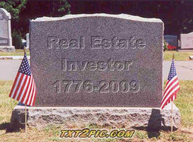 Is real estate investment dead?