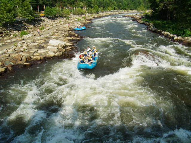 White Water Rafting in the mountains