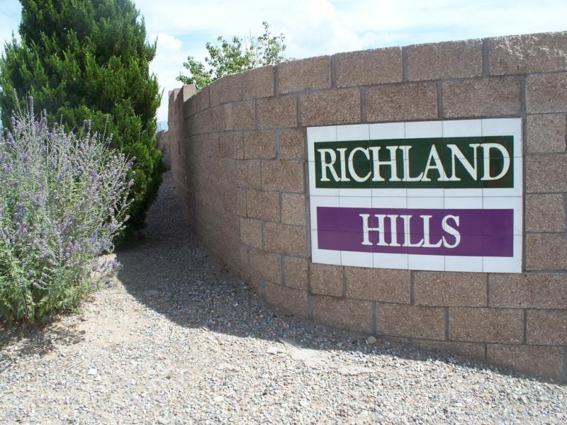Richland Hills Sign on brick wall