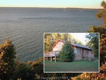 Chesapeake Bayfront Home in Lusby