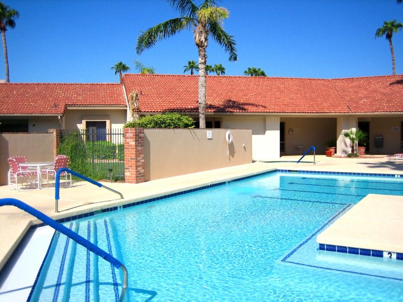 Swimming Pool In Sun City Arizona