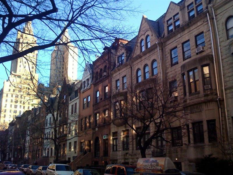 Upper West Side Brownstones, San Remo Apartments