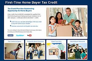 should the 8000 first time home buyer tax credit be extended. Black Bedroom Furniture Sets. Home Design Ideas