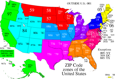 Maps by Zip Code