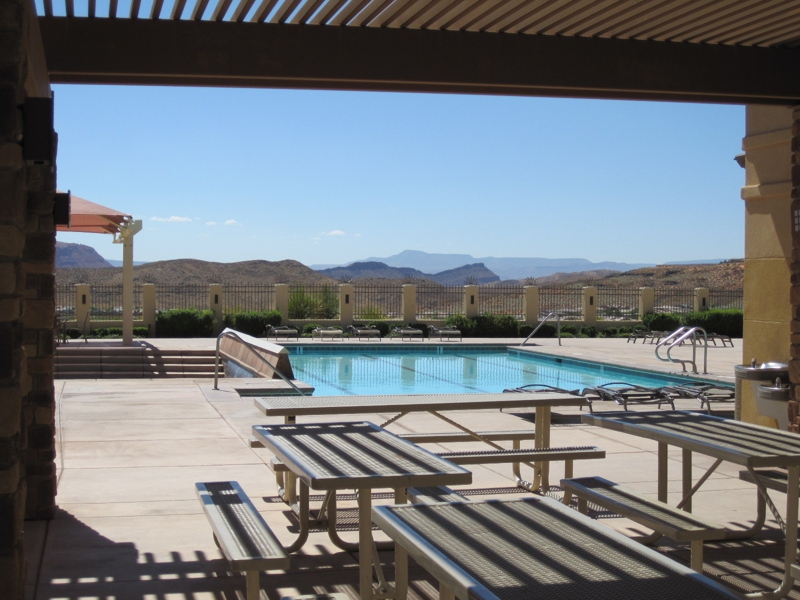 St George Utah Pool Homes For Sale July 2012