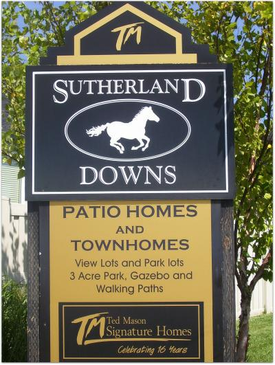 sutherland Downs sign