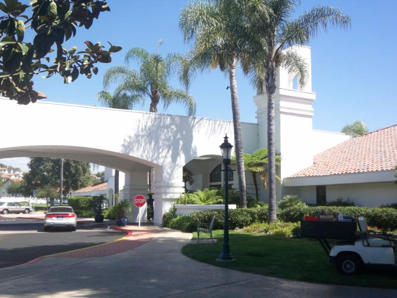 The Clubhouse at Ocean Hills Country Club in Oceanside California