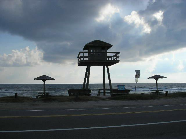 World War II watch tower in Ormond By The Sea Florida