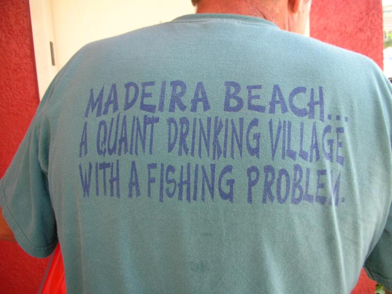 T shirt of Madeira Beach Fl