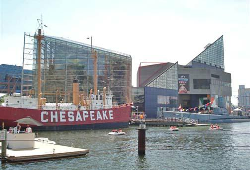 Lightship and Submarine Baltimore