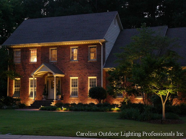 Learn About Landscape Lighting Outdoor On A Budget Custom Home Open House