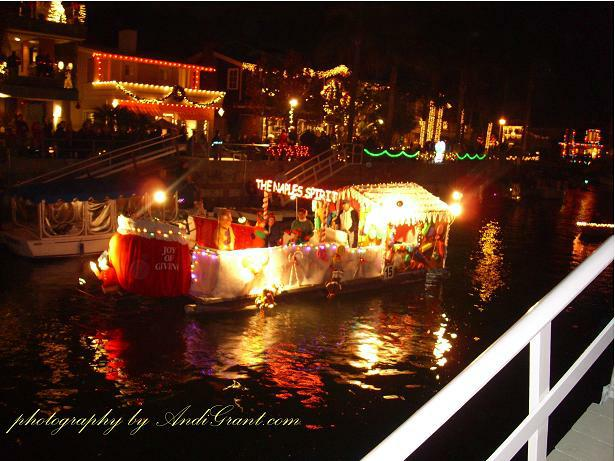 naples boat parade long beach photo