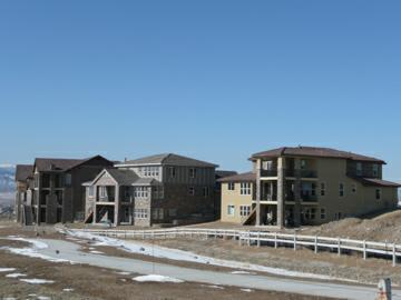 BackCountry neighborhood new homes under construction