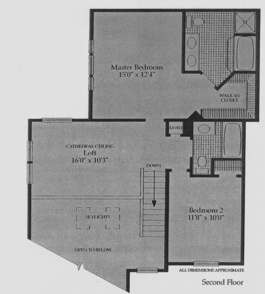 Second Floor Plan/Occoquan& Barrington Pointe