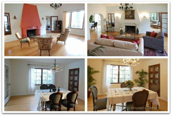 Spanish Revival House Before And After Los Angeles Home Staging