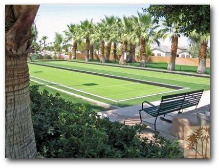 Trilogy La Quinta lawn bowling