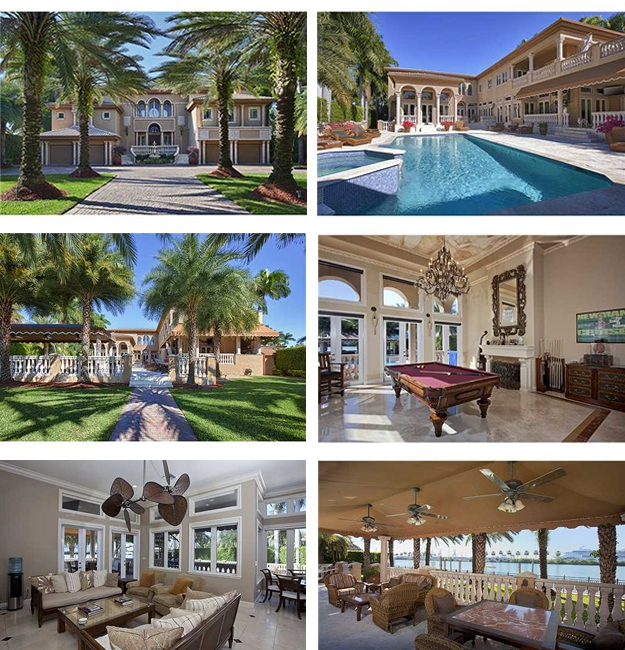 Palm Island Bayfront Luxury Homes For Sale