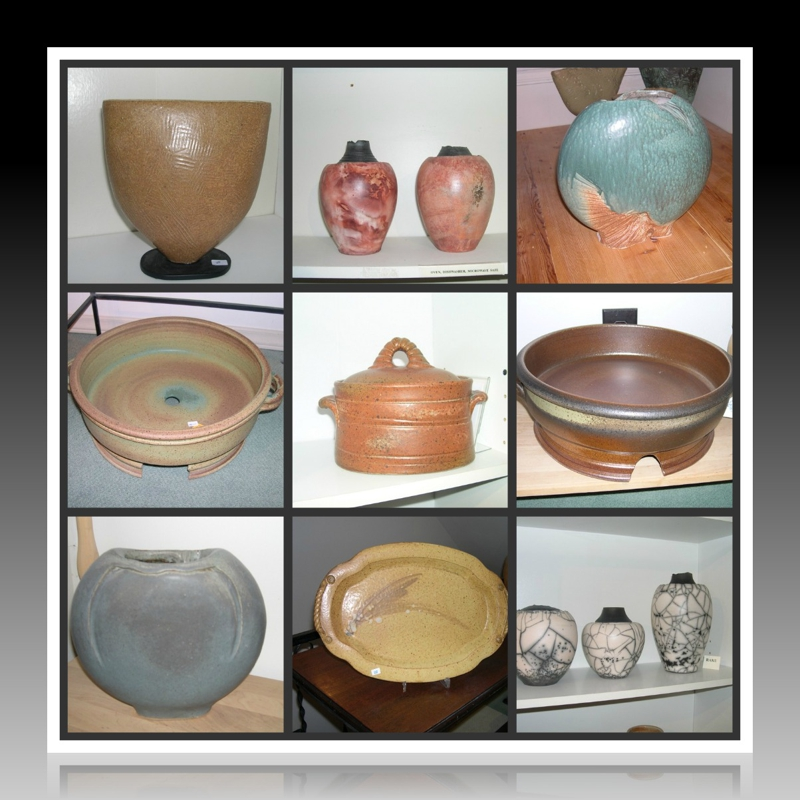 Pittis pottery collage