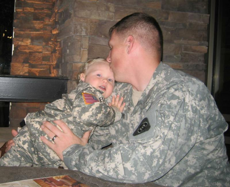 A Soldier's Precious Moments