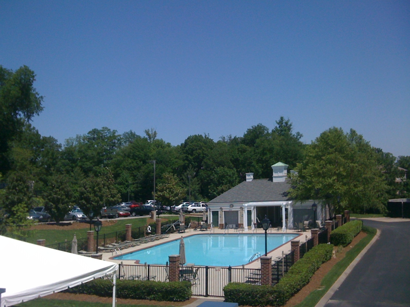 Governors CLub pool