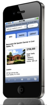 RealBird Mobile Real Estate Marketing