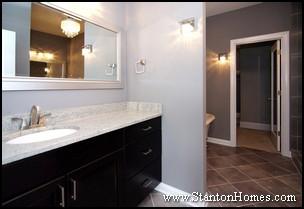 Rubbed Bronze Bathroom Lighting on 2012 New Home Trends In The Master Bathroom   Master Bathroom Feature