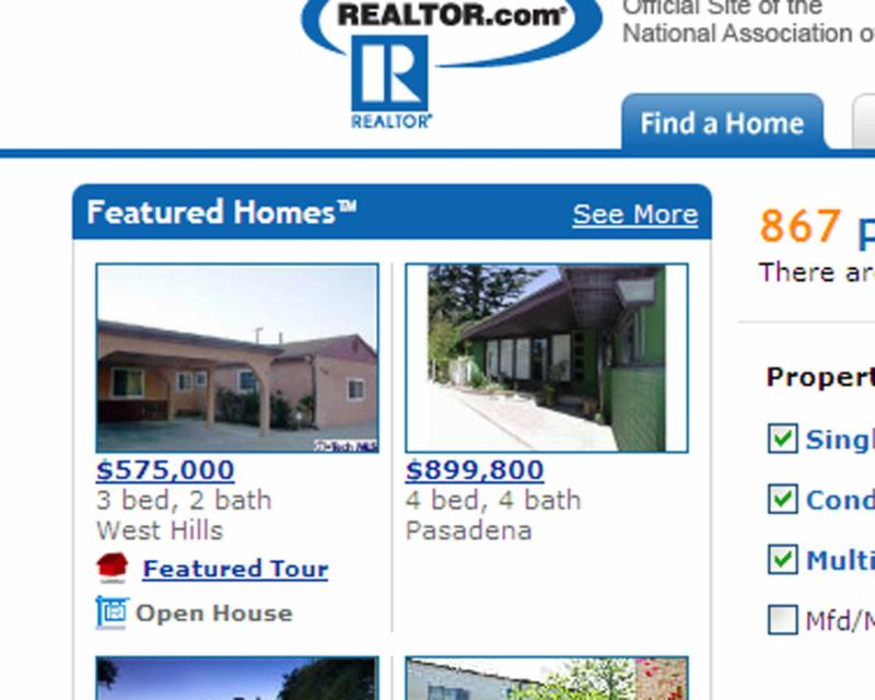 Featured Homes on Realtor.com