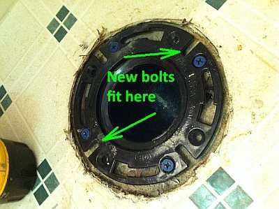new toilet flange