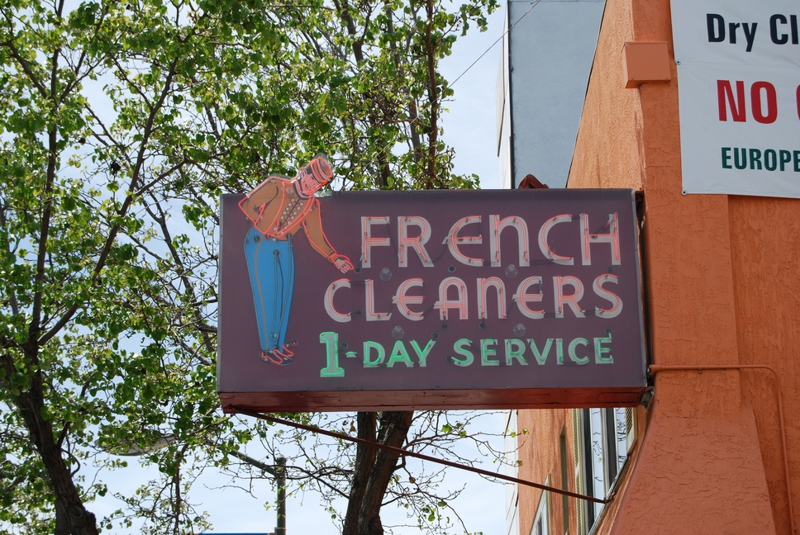 The French Cleaners in the Piedmont area of Oakland CA
