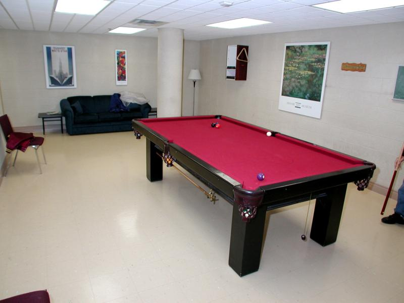 Pool Room at Dayspring