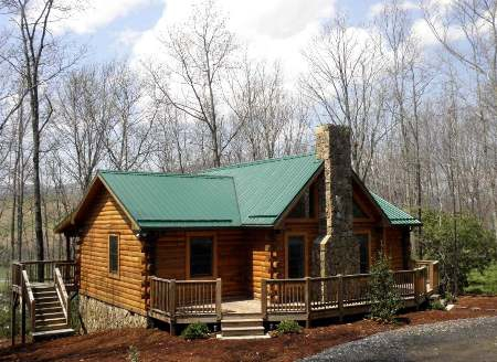 Cabin for Sale in West Jefferson NC 2 bed2 bath at