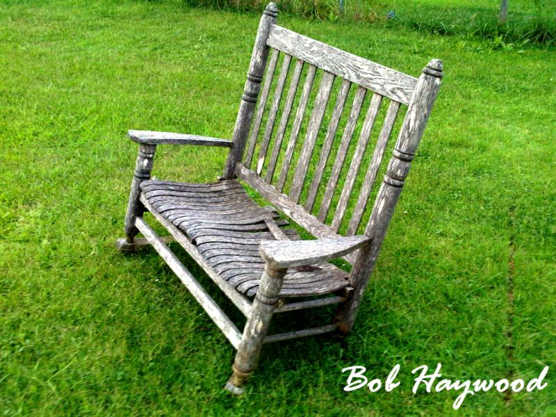 Chair in Claremore Oklahoma by Bob Haywood