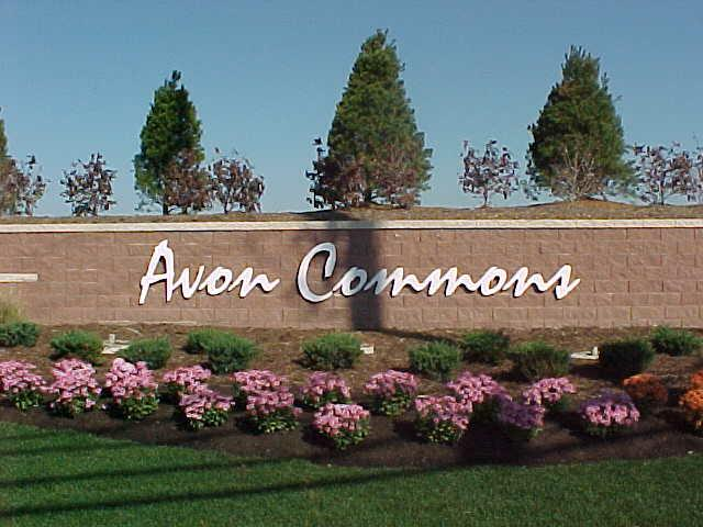 Ohio's Avon Commons Shopping Center Entrance