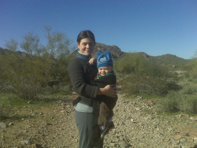 Brandi & Wyatt - Phoenix Mountain Preserve