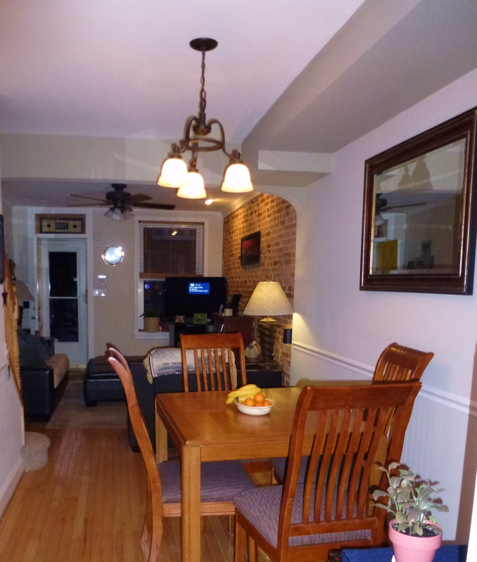 Living/Dining Room 709 S. Milton St. HomeRome 410-530-2400
