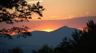 Mountain Vacation Home Sunset - Caroline DeVore