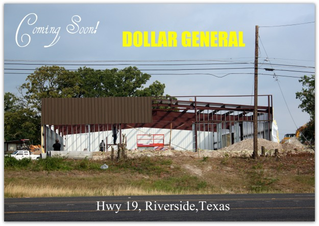 Dollar General is Coming to Riverside Texas