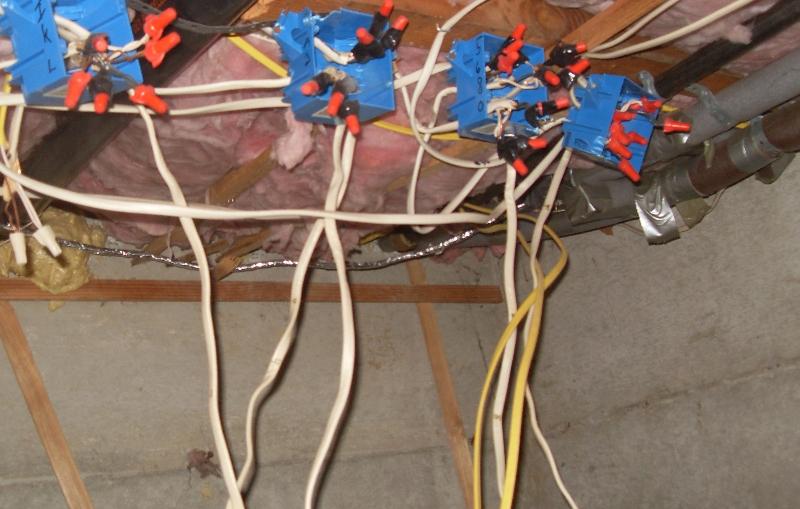 DIY'er electrical work Leavenworth Real Estate Inspection