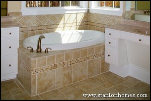 Enclosure Tile Ideas | Bathroom Tub Photos | Custom Tile Design Trends
