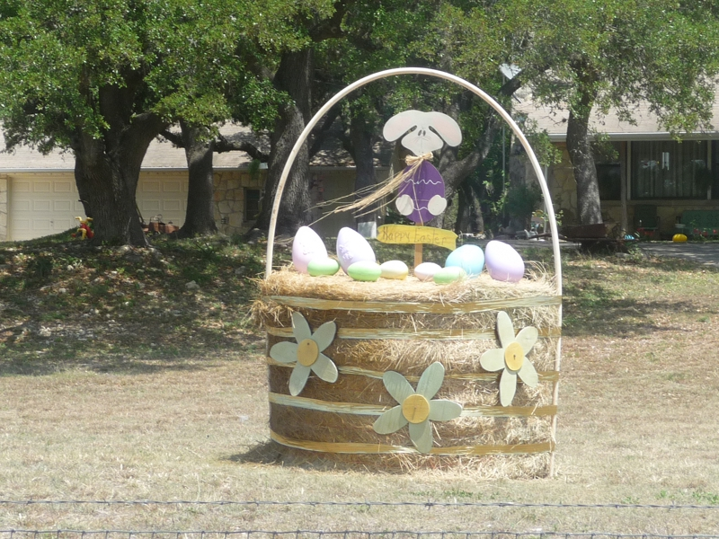 Easter Basket in Boerne Texas